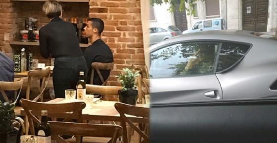 «C'è Ronaldo in pizzeria»: prima cena in centro per CR7, poi il gestaccio a un tifoso?