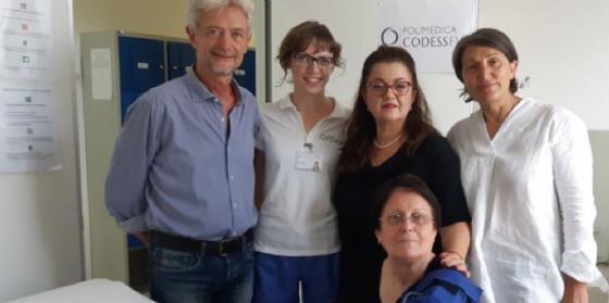 L'Andos di Udine dona alla Polimedica un nuovo strumento riabilitativo