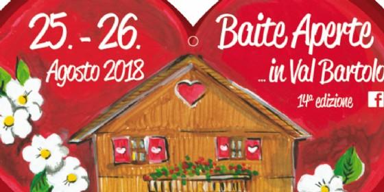 In Val Bartolo torna 'Baite Aperte'