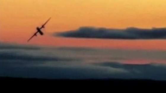L'aereo «rubato»