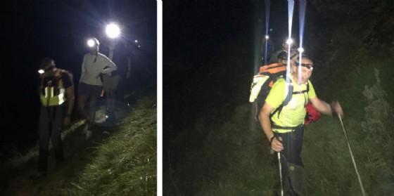 Sorpresi dal buio: salvati due escursionisti toscani a Erto