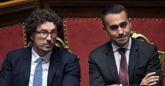 Danilo Toninelli e Luigi Di Maio