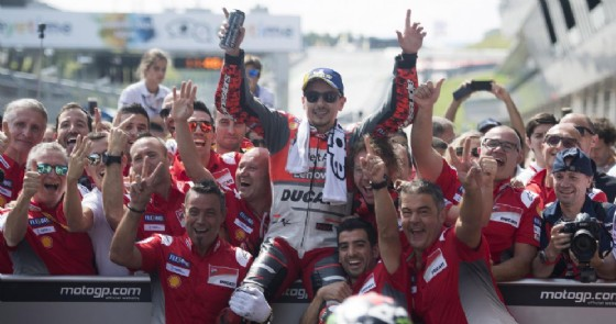 Jorge Lorenzo su Ducati