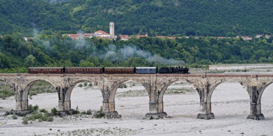 'Twitter Express': treno storico da Udine a Sacile