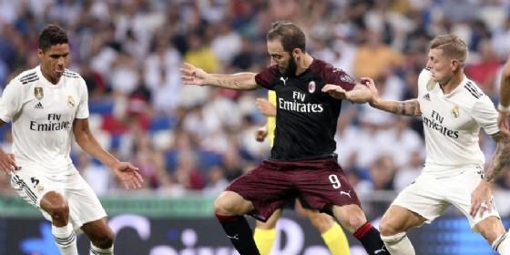 Gonzalo Higuain, nuovo centravanti del Milan
