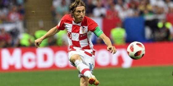 Luka Modric, centrocampista croato del Real Madrid