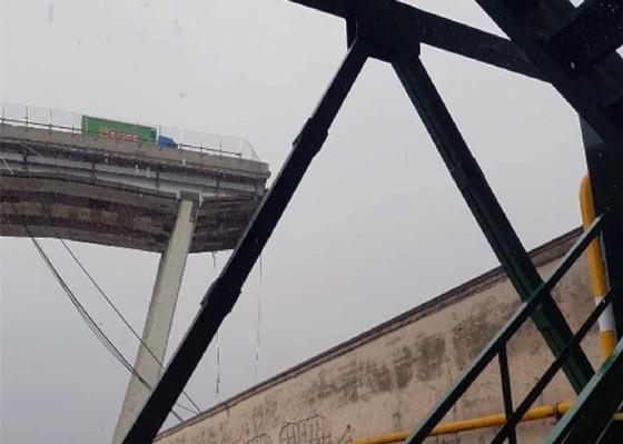 Ponte Morandi: l'ultimo video prima del crollo di Autostrade è stato rimosso