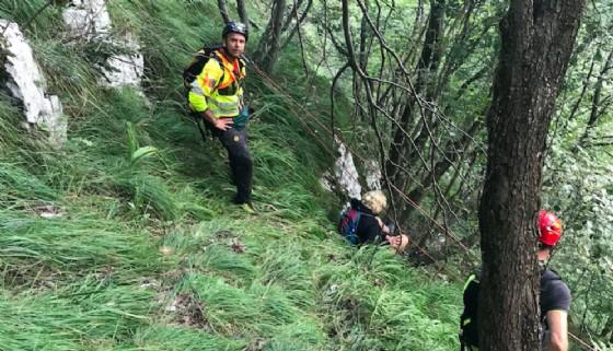 Il Soccorso Alpino recupera due escursionisti olandesi