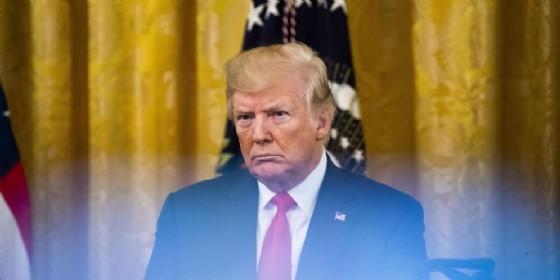 Il presidente degli Stati Uniti, Donald Trump