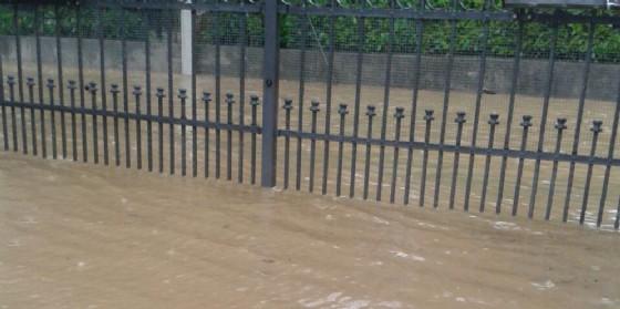 Esondato il torrente Grava: Fratta sott'acqua