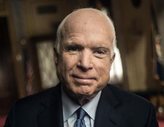 Il senatore del Partito repubblicano degli Stati Uniti, John McCain