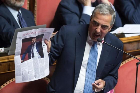 Il senatore di Forza Italia, Maurizio Gasparri