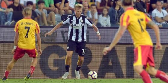 Udinese: Barak problemi a un quadricipite, comincia la riabilitazione