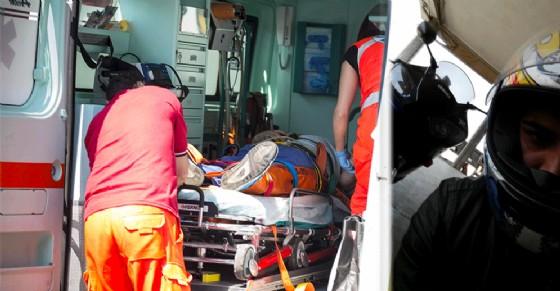 Dramma a Moncalieri, auto si scontra con una moto: muore giovane biker