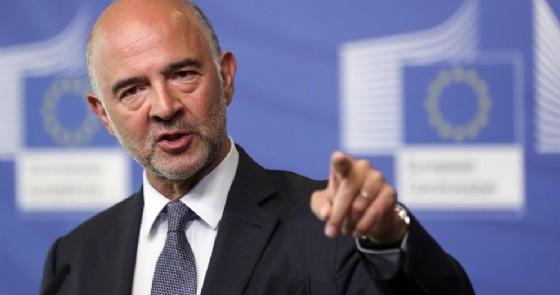 Il commissario Ue per gli affari economici e monetari Pierre Moscovici