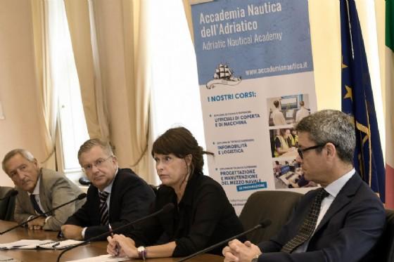Assessore Rosolen alla presentazione del bando per il corso indetto dalla Fondazione Its Accademia nautica dell'Adriatico di Trieste