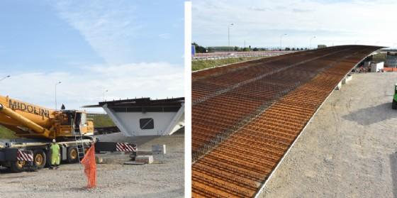 Nodo di Palmanova, il varo del nuovo ponte sta avvenendo senza chiudere l'autostrada