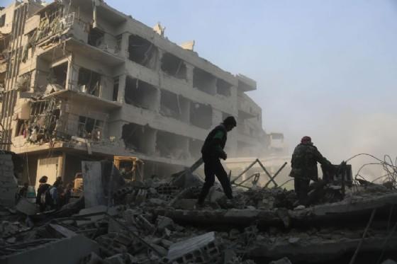Bombardamento a Idlib, Siria