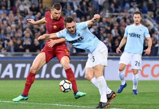 Il derby di Roma. Foto di repertorio