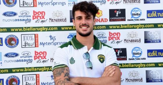 Gabriele Leveratto Biella Rugby