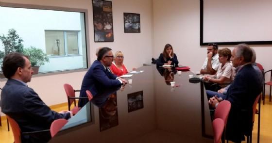Il direttore generale Gianni Bonelli con i sindaci