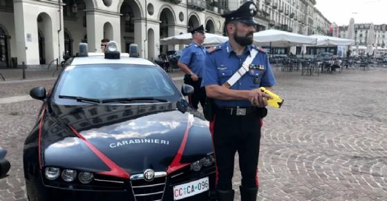 A Torino è stato utilizzato per la prima volta il taser