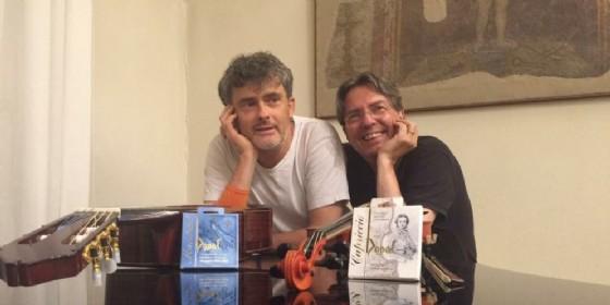 Franco Mezzena e Claudio Piastra, musicisti