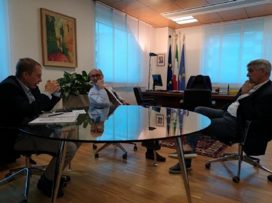 Vicegovernatore Riccardo Riccardi con rappresentanza regionale Ordini dei veterinari