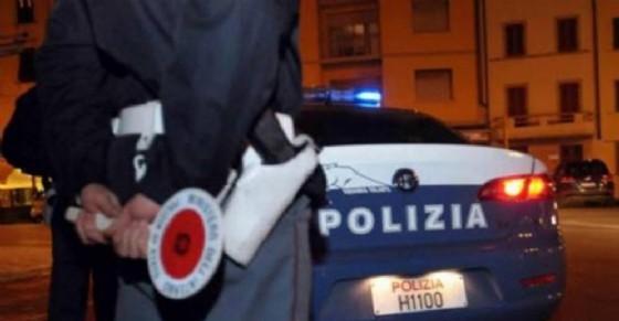 Polizia in servizio di notte