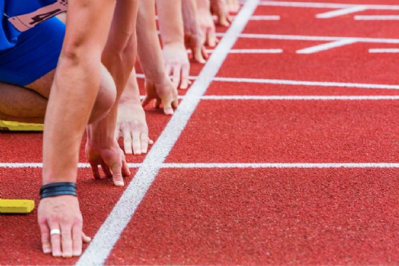 Inaugurata la nuova pista di atletica allo stadio comunale di Majano