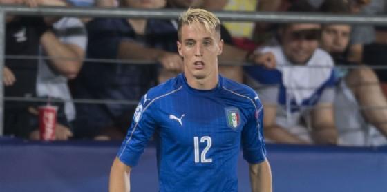 Andrea Conti, terzino del Milan e della nazionale italiana