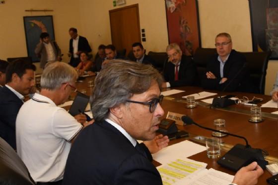 Assessore Sergio Bini durante VI Commissione del Consiglio regionale