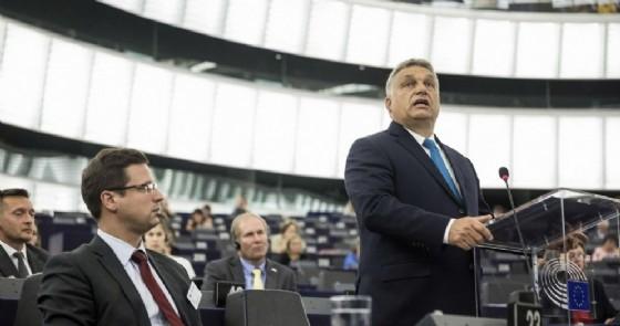 Il discorso di Viktor Orbán al Parlamento europeo