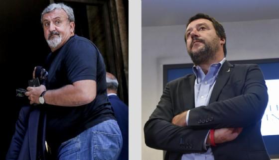 Michele Emiliano e Matteo Salvini