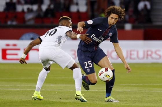 Adrien Rabiot, centrocampista del Paris Saint Germain