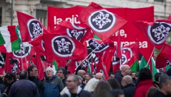 Corteo nazionale di CasaPound a Trieste