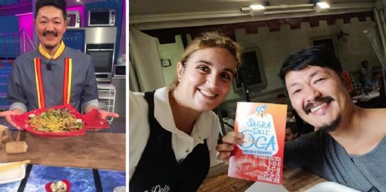 Friuli Doc: fra gli stand 'avvistato' Hiro, direttamente dalla Prova del Cuoco!