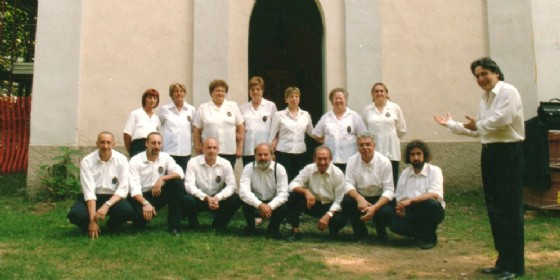 I Cantori di Camandona a Mazzucco - Luglio 2004
