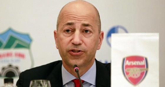 Ivan Gazidis,  nuovo amministratore delegato del Milan dal prossimo 1 dicembre