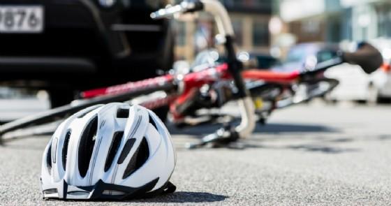 Incidenti auto-bici - Immagini di repertorio