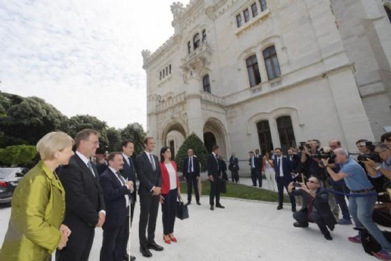Siglata la manifestazione d'intenti dal premier Conte, il governatore Fedriga, il sottosegretario Zoccano e la direttrice del Museo Storico Contessa