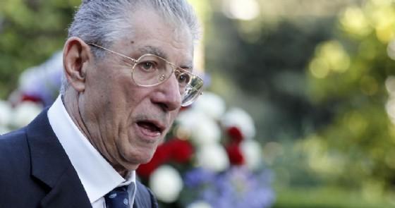Il fondatore ed ex segretario della Lega, Umberto Bossi
