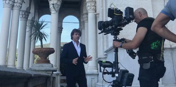 A Miramare arriva Alberto Angela per una nuova puntata di Ulisse