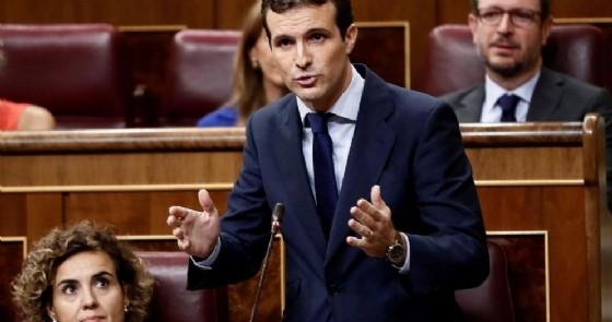 Il leader del Partito popolare spagnolo, Pablo Casado