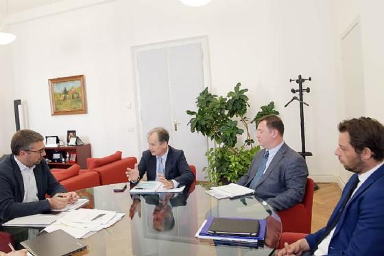 L' assessore a Politiche comunitarie e Corregionali all'estero, Pierpaolo Roberti incontra l'Unione Italiana guidata da Maurizio Tremul