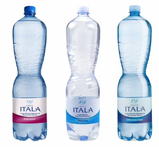 Acqua minerale Fonte Itala richiamata per tricloroetilene