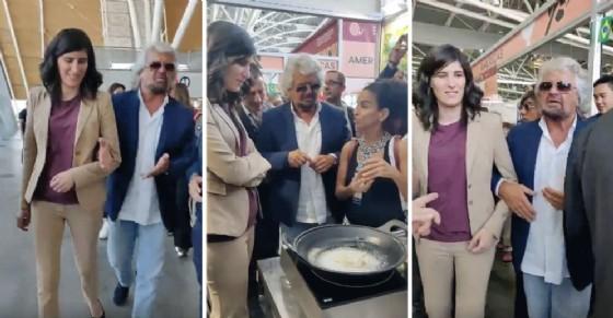 Grillo sponsorizza Appendino: «Brava, per te cambiamo la regola dei tre mandati»