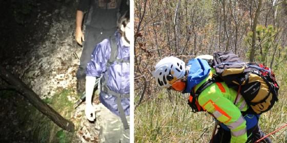 Resia, si perdono dei boschi: recuperati nella notte due 24enni