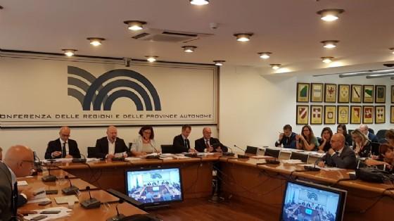 Assessore regionale ai Sistemi informativi Sebastiano Callari alla Conferenza delle regioni