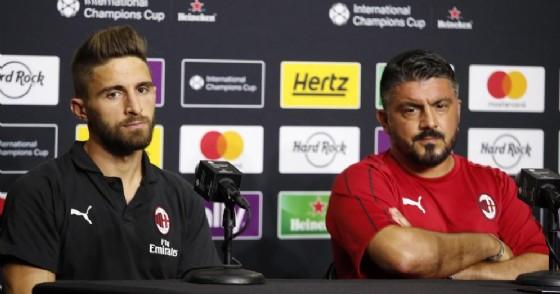 L'espressione preoccupata di Fabio Borini e Gennaro Gattuso